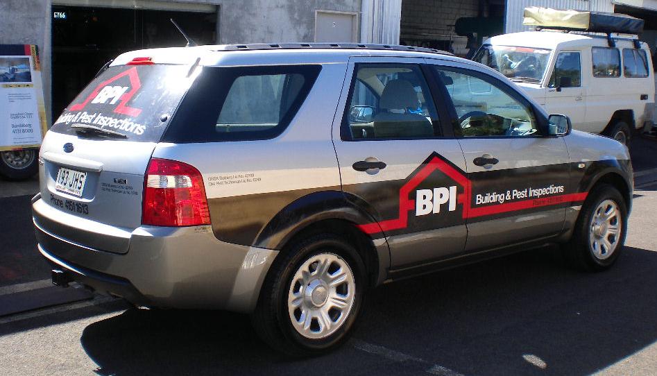 Building & Pest Inspections Bundaberg Vehicle Wrap