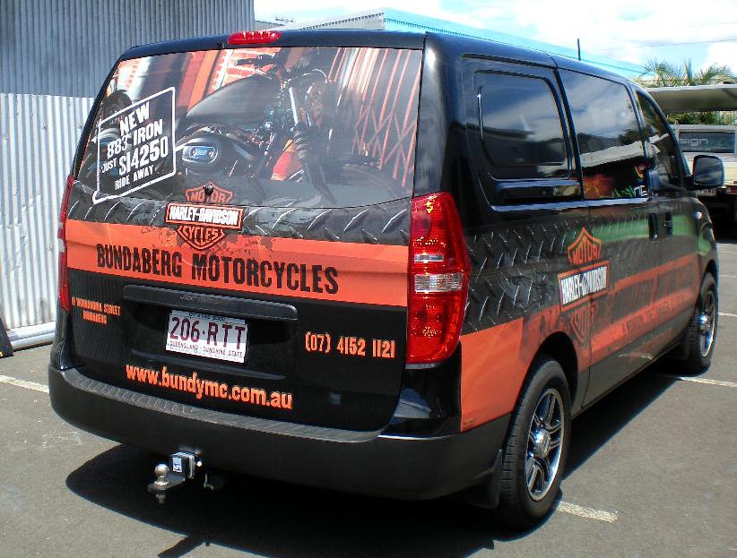 Bundaberg Motorcycles Vehicle Wrap