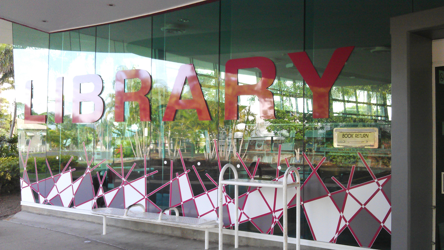 Bundaberg Library 3d Sign by SignMax
