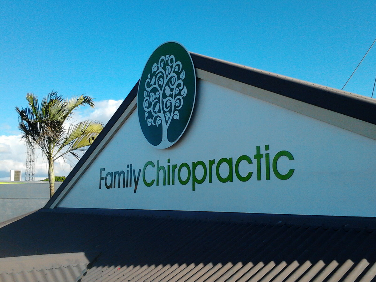 Family Chiropractic 3D Signs & Letters by SignMax Bundaberg
