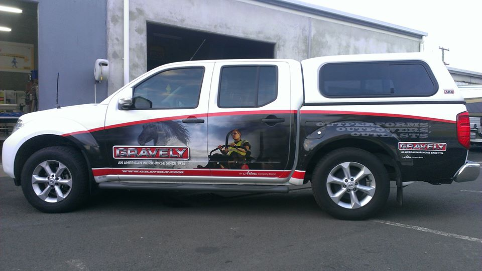 Gravely Wrap by SignMax