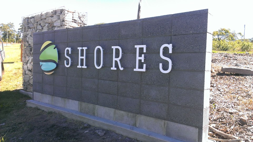 Shores 3D Lettering by SignMax Bundaberg