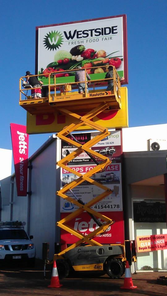 Westside Light Box Install by Sign Max Bundaberg