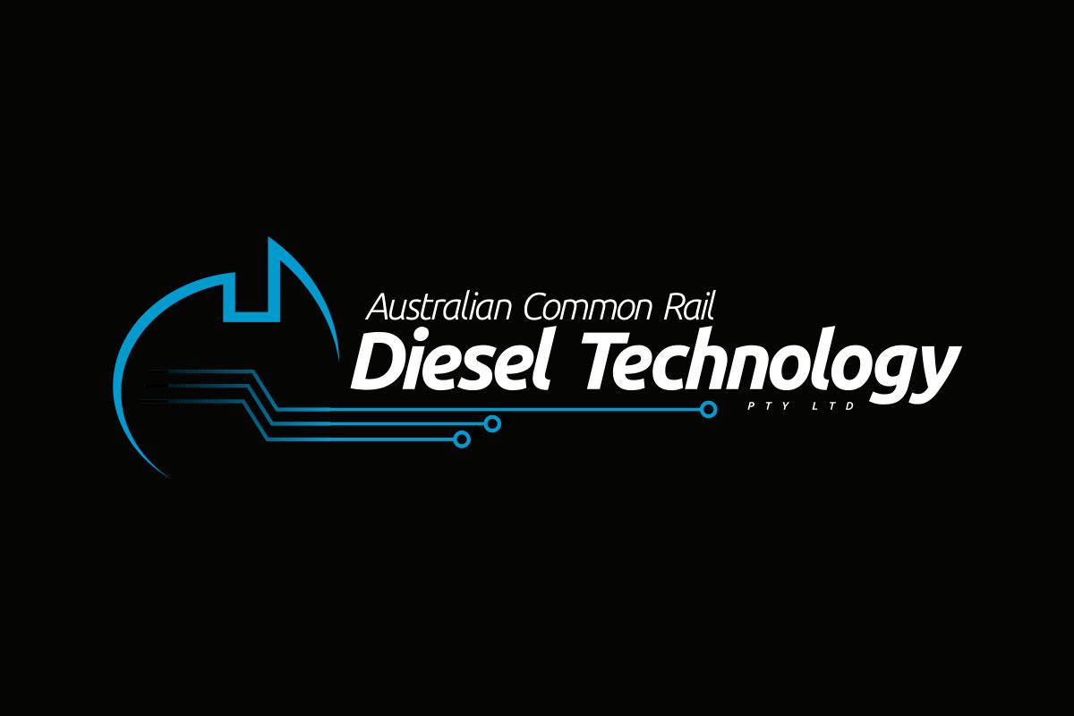 Australian Common Rail Diesel Technology Logo Design by SignMax Bundaberg
