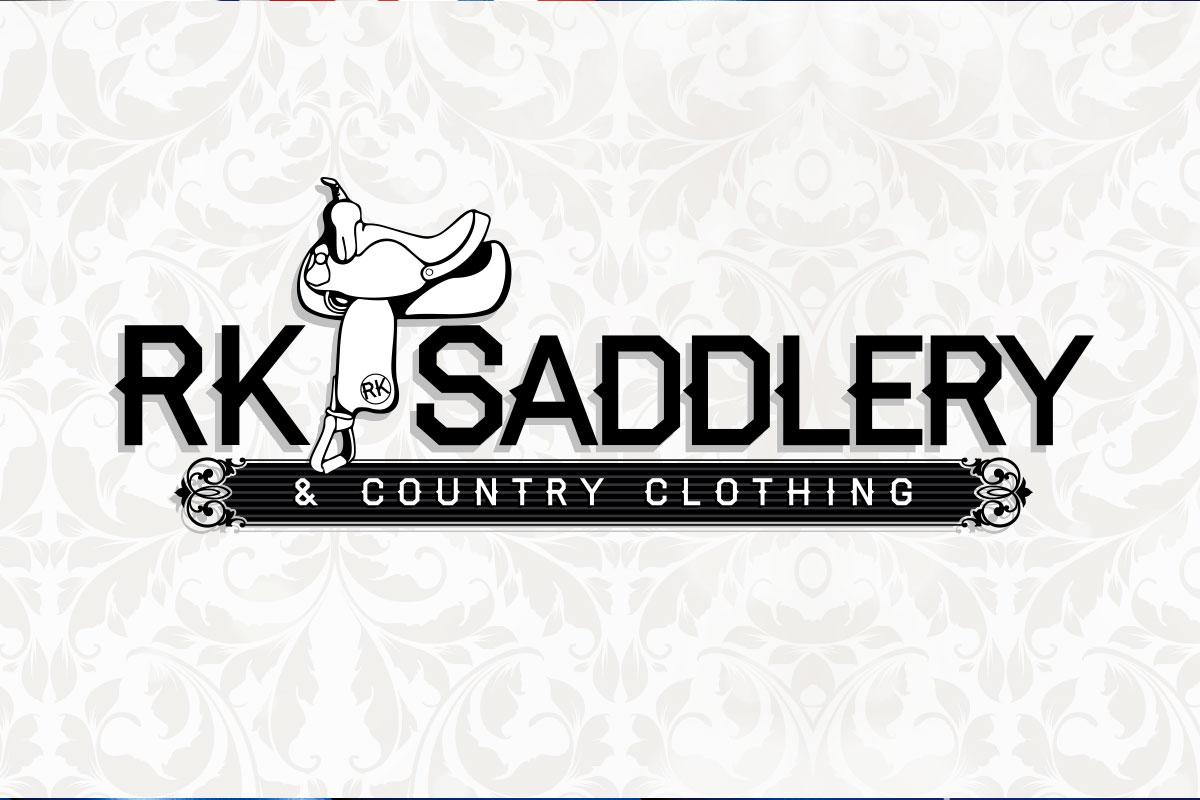 R-K Saddlery Logo Design by SignMax Bundaberg