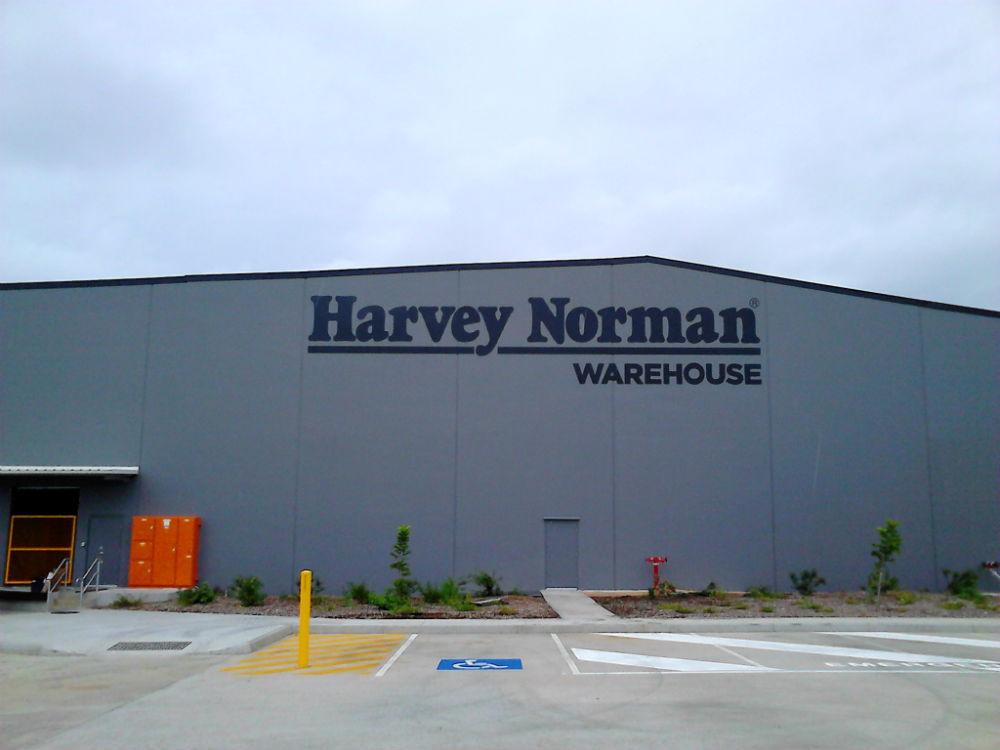 Harvey Norman 3d Sign by SignMax Bundaberg