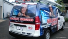 Uniden Digital Camera Vehicle Wrap by SignMax Bundaberg