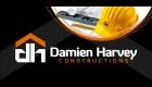 Damien Harvey Constructions Logo by SignMax Bundaberg
