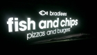 Bradless Fish & Chips Lightbox by Sign Max Bundaberg
