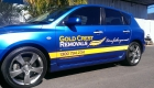 Gold Crest Removals Vehicle Graphics by SignMax Bundaberg