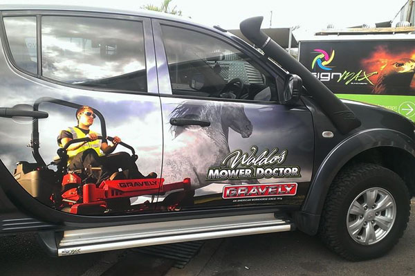 Vehicle Wraps Bundaberg
