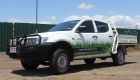 Gregg's Lawn Care Services Ute Graphics by SignMax Bundaberg