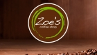 Zoes Coffee Shop Logo Design by SignMax Bundaberg